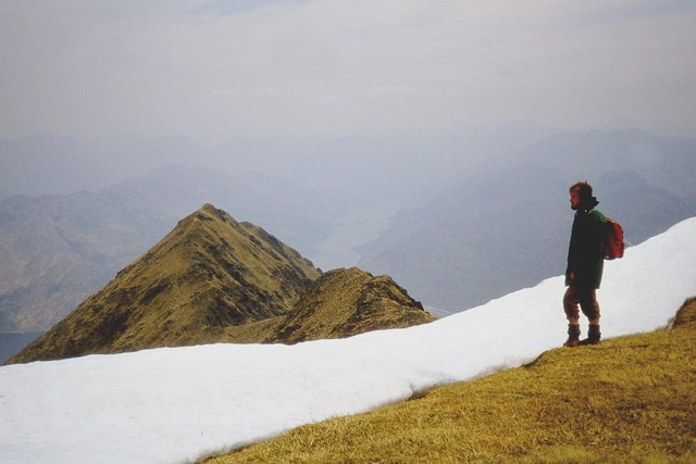 Stob a'Choire Odhair from Ladhar Bheinn ridge