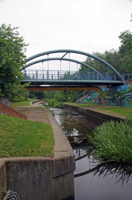 Bridge Over The River Pool