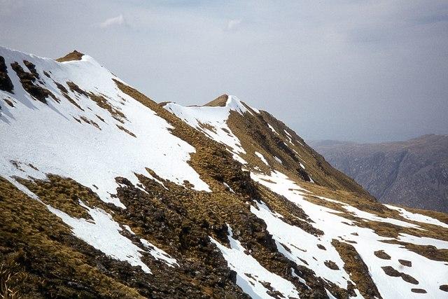 Coire Gorm on the north face of Ladhar Bheinn