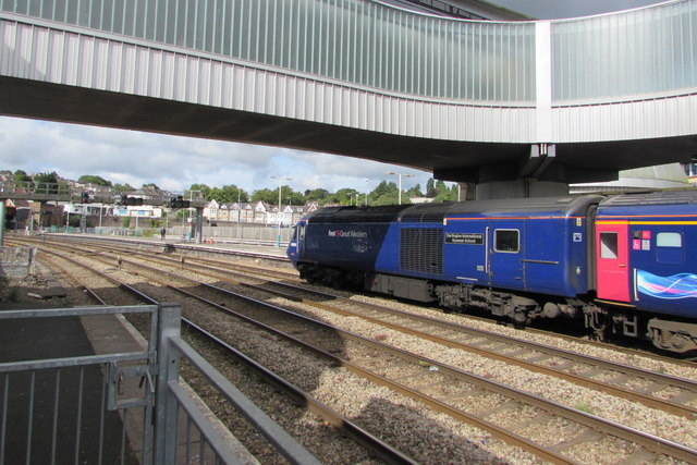 Dartington International Summer School in Newport railway station
