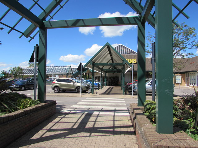 Entrance to Morrisons Yate