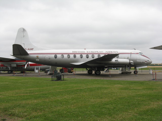 Vickers Viscount at Duxford