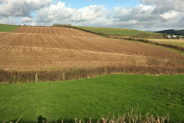 Stubble fields at Frenchstone