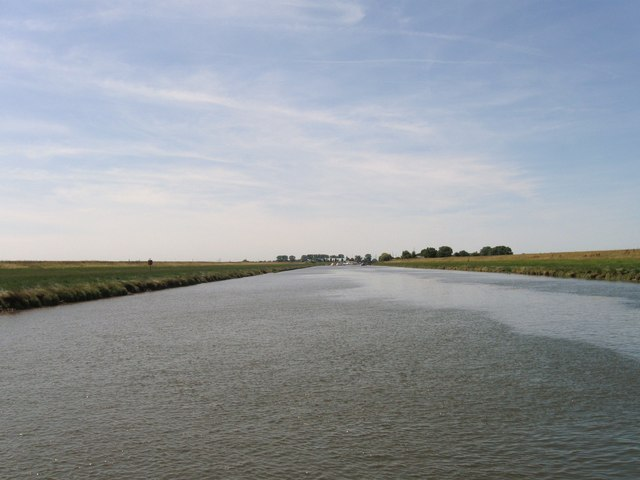View from River Welland