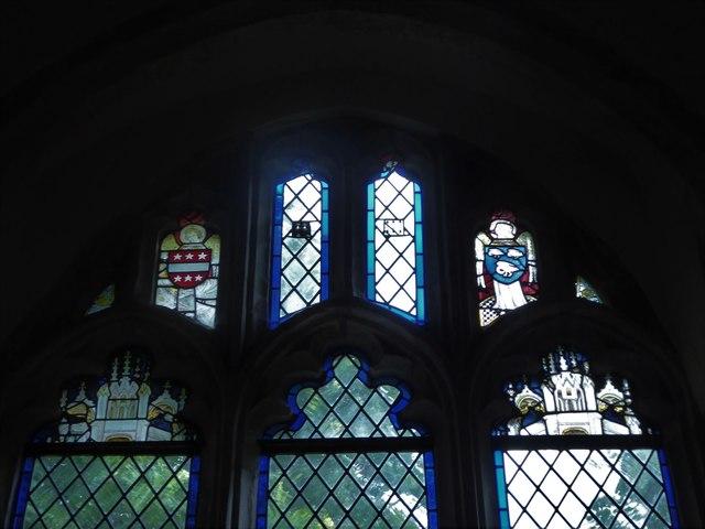 Inside St Michael, Penhurst (g)