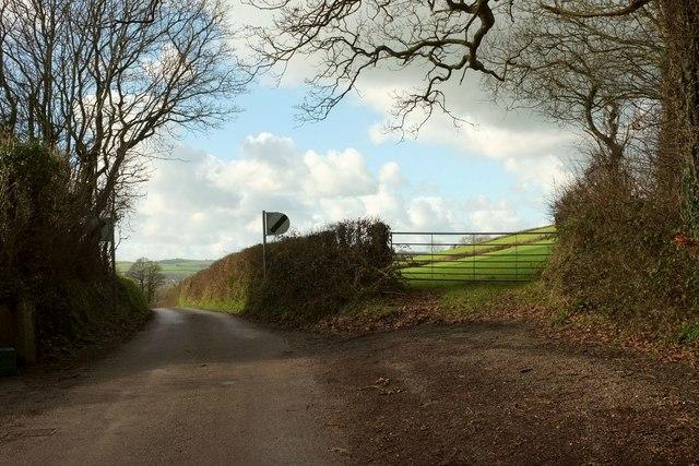 Lane from George Nympton