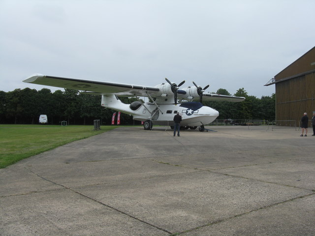 Consolidated PBY-5A Catalina at Duxford
