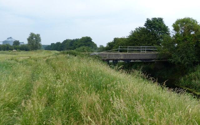 Access bridge to White House Farm