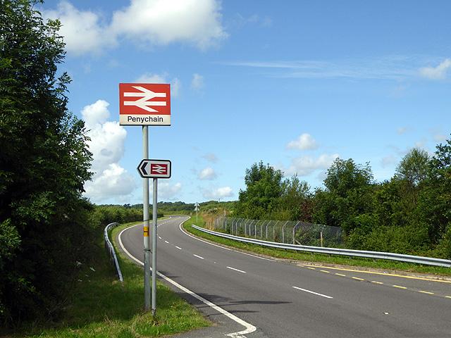 Near Penychain station