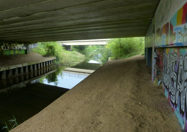 A47 road bridge across the River Nar, South Lynn
