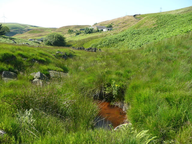 Light Hazzles Clough (the River Roch)