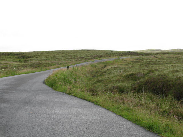 Summit of the Hill Road from Straiton to Newton Stewart
