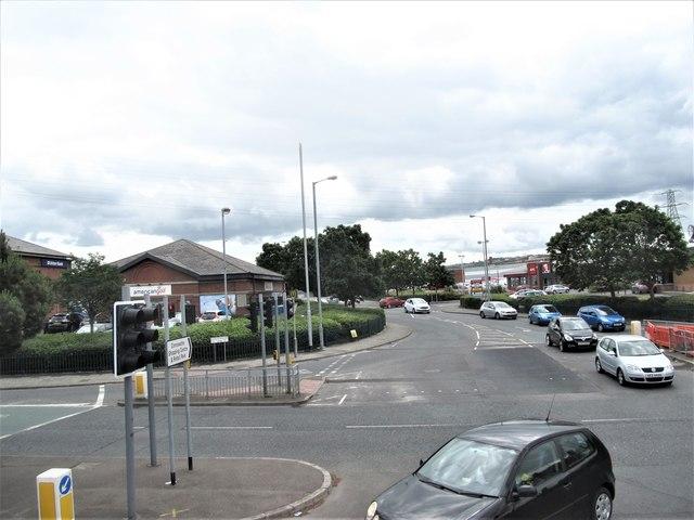 The Albertbridge Road junction on the Upper Newtownards Road