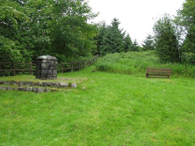 Bell's Memorial, Glentrool Forest
