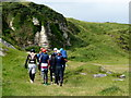 D0345 : Tombstoners, Ballintoy by Kenneth  Allen