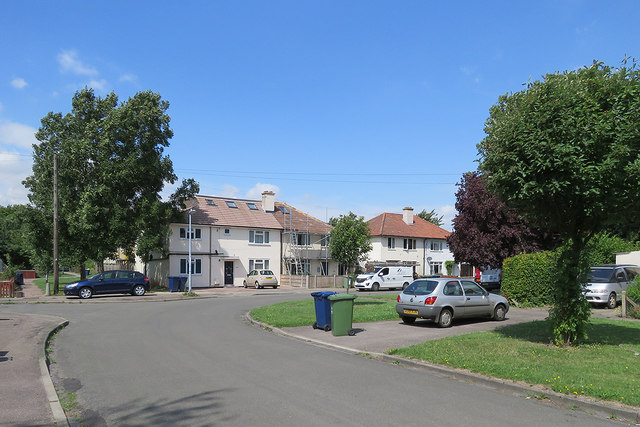 Cambridge: a corner of Peverel Road
