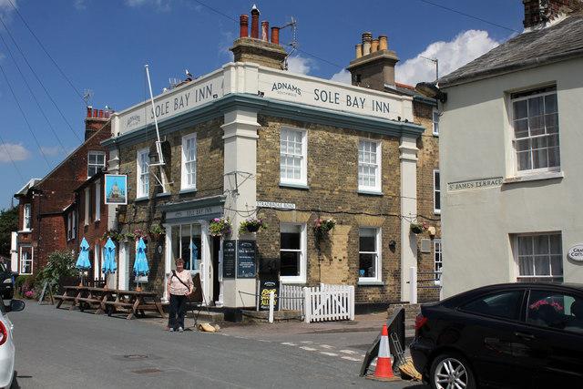 Sole Bay Inn, 7 East Green, Southwold