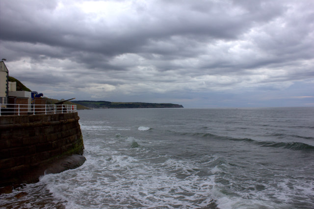 Whitby seafront from West Pier