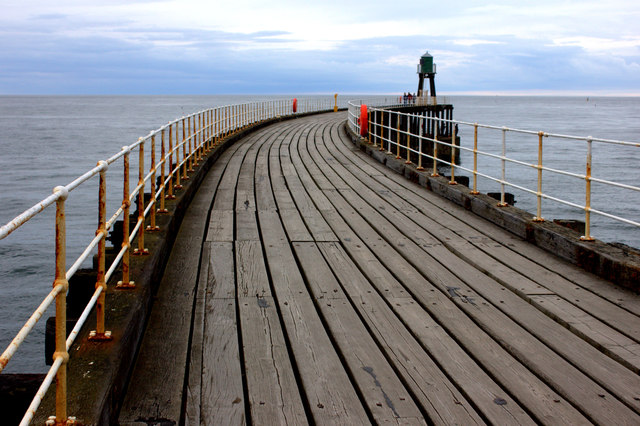 Whitby. West pier