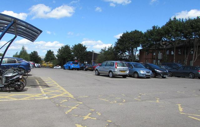 Yate Railway Station Car Park