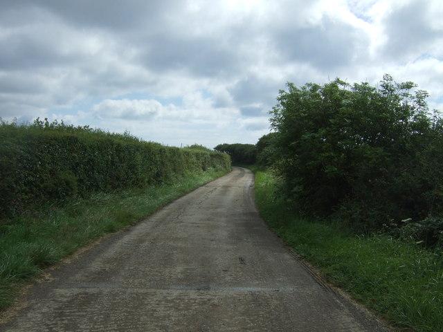 Track to Trethvas Farm