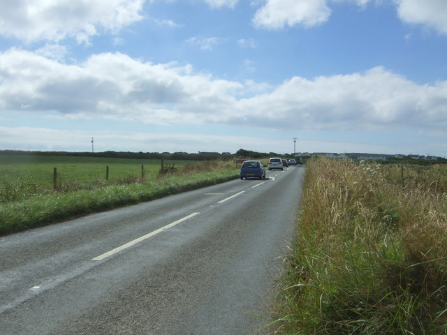 A3083 looking south east
