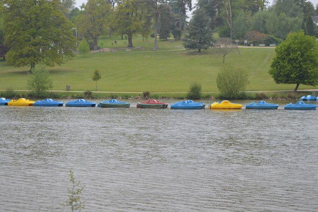 Boats, Dunorlan Lake