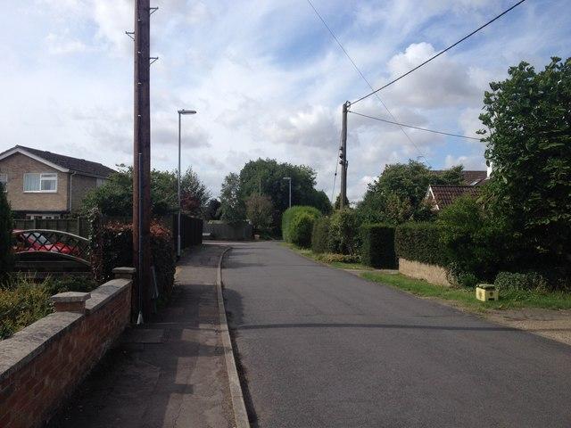 The Lane, Hauxton