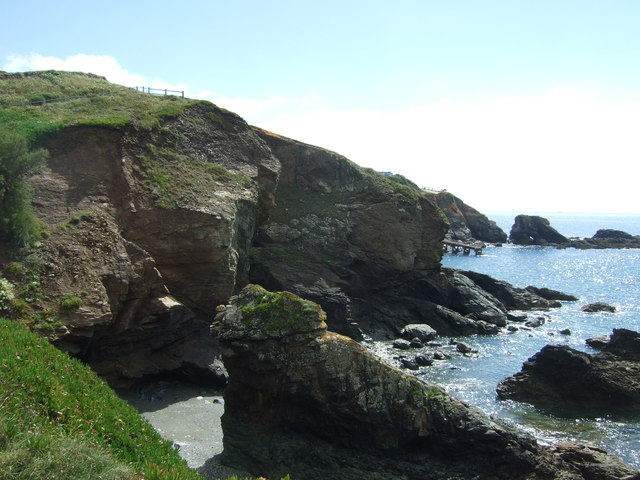 Polpeor Cliff