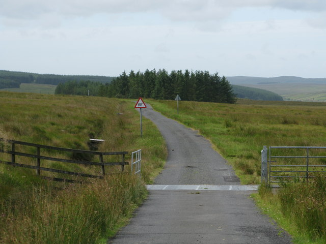 Cattle Grid on the Minor Road from Barrhill to Glenluce