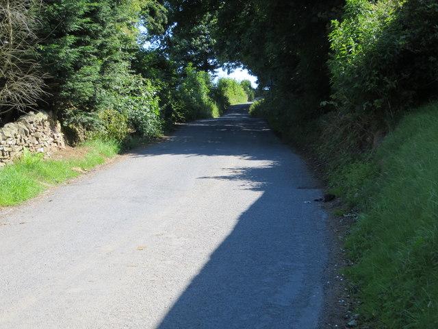 Moor Lane near Stoies House