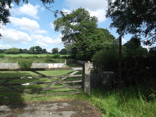 Footpath off the A550