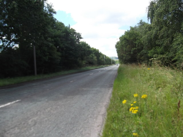 The A550 bypassing Penyffordd