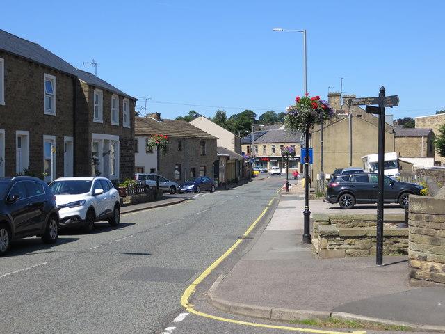 Water Street in Earby