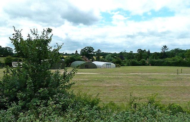 Poly Tunnels Near Manor Farm