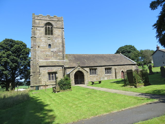 The Church of St Mary the Virgin at Thornton-in-Craven
