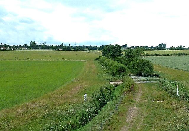Fields Near Yaxham