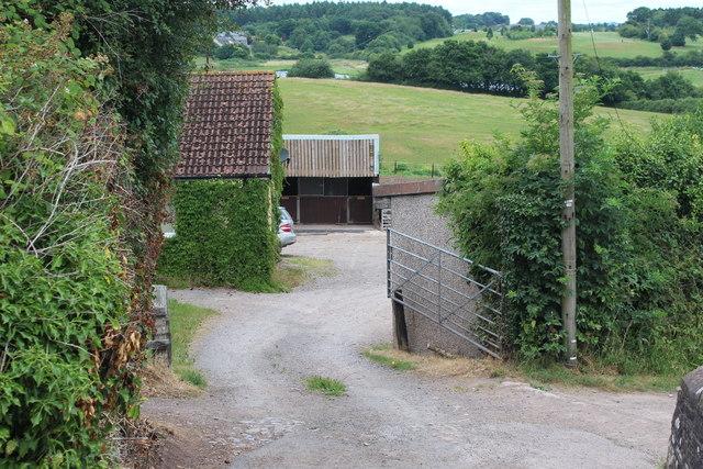 Farm buildings, Pensarn