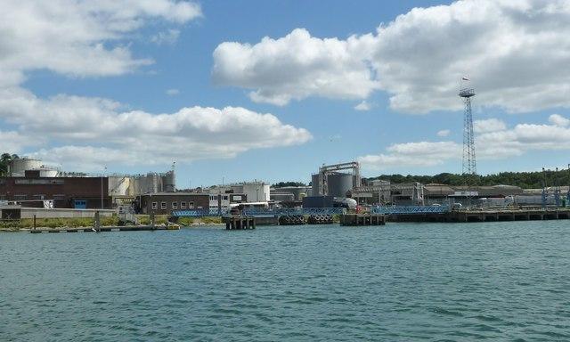 Jetties, east bank, River Orwell, Ipswich
