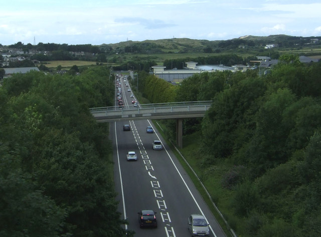 A30 east of Hayle