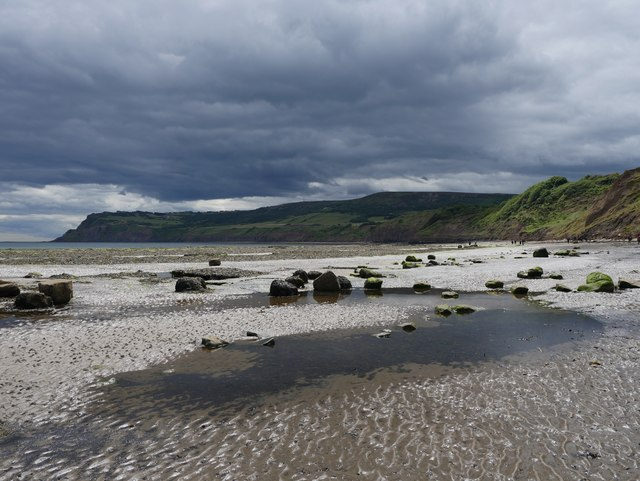 Threatening Clouds Over Robin Hood's Bay