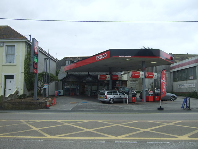 Service station on Beatrice Terrace, Hayle