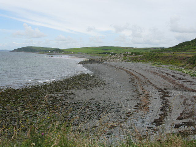 Looking west along the northern part of Luce Bay