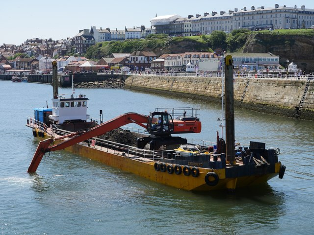 Dredging At Whitby Harbour