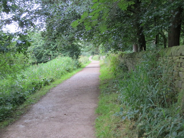 Permissive footpath along the north-east bank of Fewston Reservoir