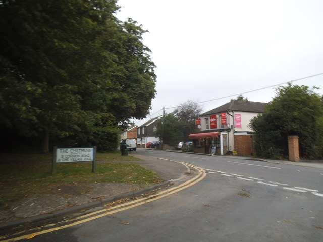 The Chilterns at the junction of Common Road