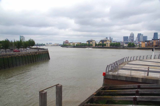 The Mouth of Deptford Creek