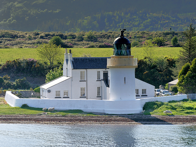Corran Point Lighthouse and Keeper's House