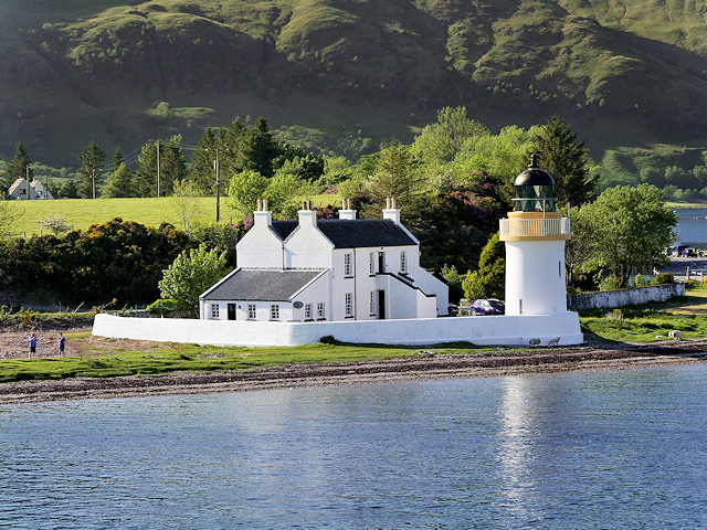 Lighthouse at Corran Narrows