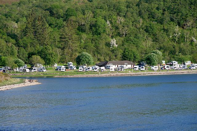Bunree Caravan and Motor Home Club Site, Loch Linnhe